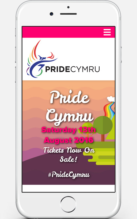 Web Design Project - Cardiff Pride