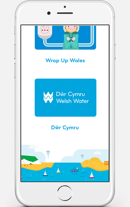 Web Design - Welsh Water