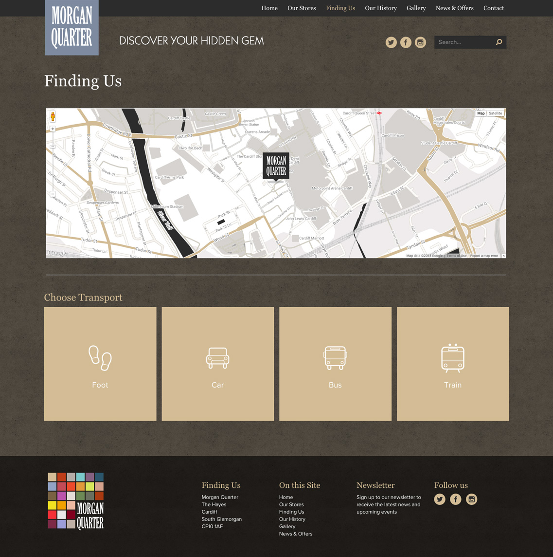 Web Design Cardiff Morgan Quarter